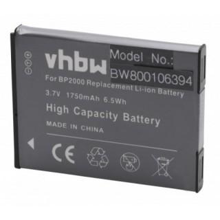 Batteria BP2000 per Samsung Galaxy Camera 2 / EK-GC200, 1750 mAh
