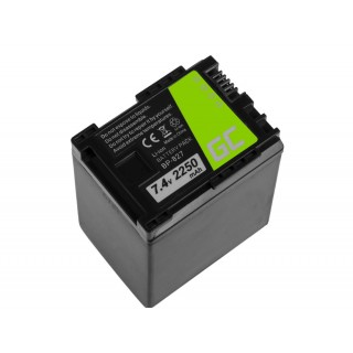 Batteria BP-819 / BP-827 za Canon Legria HF-10 / HF-G10 / HF-S10, 2250 mAh
