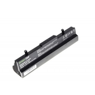 Batteria per Asus Eee PC 1001 / 1001H, nera, 6600 mAh
