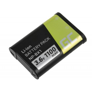 Batteria NP-BX1 per Sony Cybershot DSC-HX50 / DSC-HX300 / HDR-AS15, 1100 mAh