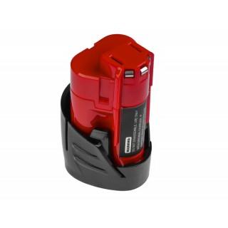 Batteria per AEG Milwaukee C12 B / C12 BX / M12, 12 V, 2.0 Ah