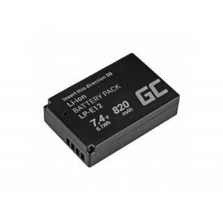 Batteria LP-E12 per Canon EOS 100D / EOS M, 820 mAh