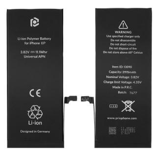 Batteria per Apple iPhone 6 Plus, 2915 mAh, con nastro adesivo