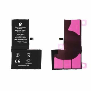 Batteria per Apple iPhone X, 2716 mAh, con nastro adesivo