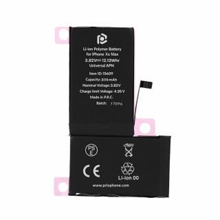 Batteria per Apple iPhone XS Max, 3174 mAh, con nastro adesivo