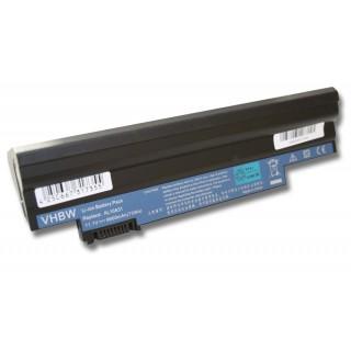 Batteria per Acer Aspire One 522 / 722 / D255 / D255E / D257, nera, 6600 mAh