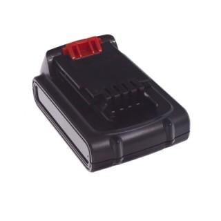 Batteria per Black & Decker A1518L, 18 V, 1.5 Ah