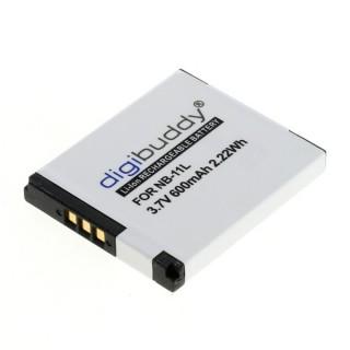 Batteria NB-11L per Canon PowerShot A2200 / A2300 / A2600, 600 mAh