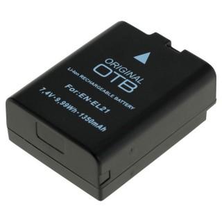 Batteria EN-EL21 per Nikon 1 V2 / Nikon 1 J2, 1350 mAh