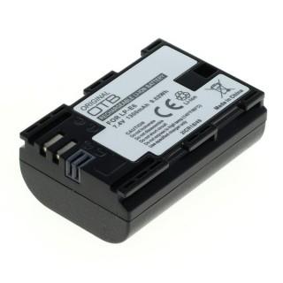 Batteria LP-E6 / LP-E6N per Canon EOS 5D Mark III / EOS 5D Mark II / EOS 7D, 1300 mAh