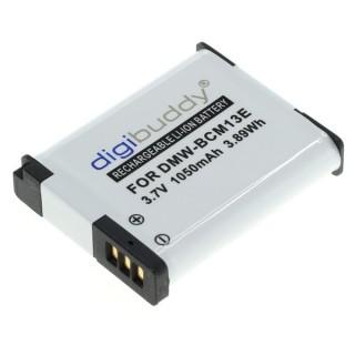 Batteria DMW-BCM13 per Panasonic Lumix DMC-FT5 / DMC-TZ40 / DMC-ZS30, 1050 mAh