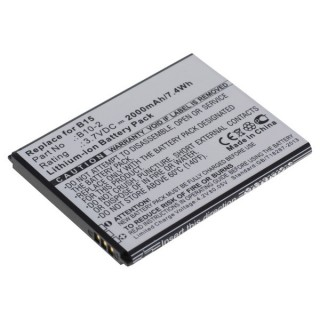 Batteria per Caterpillar CAT B15 / B15Q, 2000 mAh