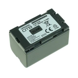 Batteria CGA-D54S / CGR-D120 per Panasonic AG-DVC30 / NV-DS11 / NV-MX1, 1800 mAh