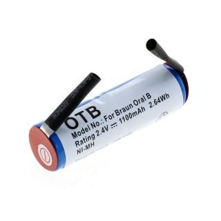 Batteria per Braun Oral-B Sonic Complete / Rowenta Dentasonic, 1100 mAh