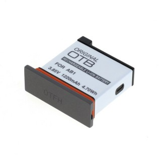 Batteria AB01 per DJI Osmo Action AB1, 1220 mAh