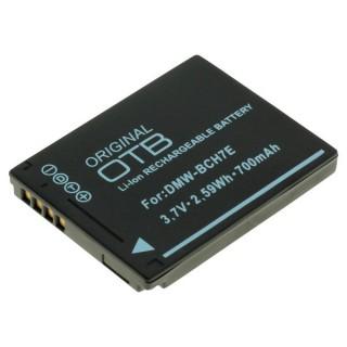 Batteria DMW-BCH7E per Panasonic Lumix DMC-FP1 / DMC-FT10, 700 mAh