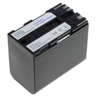 Batteria BP-970G per Canon C2 / DM-MV1 / V40 / XH A1 / XM1, 6600 mAh