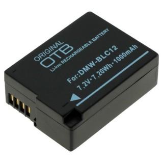 Batteria DMW-BLC12 per Panasonic Lumix DMC-FZ200 / DMC-GH2 / DMC-G5, 1000 mAh
