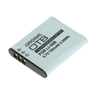 Batteria LI-50B per Olympus mju 1010 / SP-720 / Stylus TG-830, 700 mAh