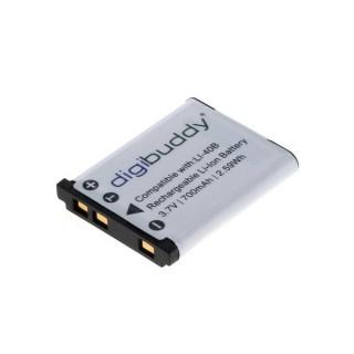 Batteria EN-EL10 / LI-40B per Olympus D-630 Zoom / FE-150 / mju 730 / mju 740, 700 mAh
