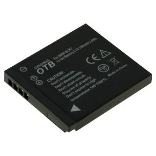 Batteria DMW-BCK7 per Panasonic Lumix DMC-FS16 / DMC-FT20 / DMC-SZ1, 700 mAh