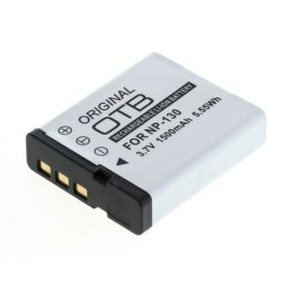 Batteria NP-130 per Casio Exilim EX-H30 / EX-ZR100 / EX-ZR200, 1500 mAh