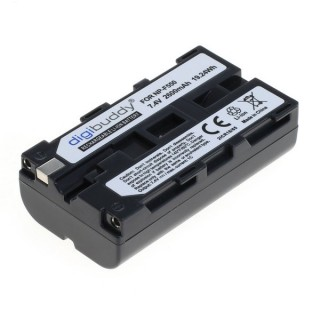 Batteria NP-F550 / NP-F750 per Sony CCD-RV100 / CCD-RV200, 2600 mAh