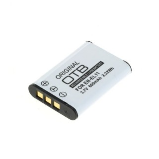 Batteria EN-EL11 per Nikon CoolPix 550 / Pentax Optio L50 / Olympus FE-370, 600 mAh