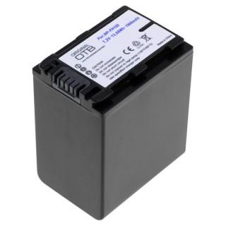 Batteria NP-FH100 / NP-FP100 per Sony DCR-DVD92 / HDR-HC7E / DCR-SR30, 1900 mAh