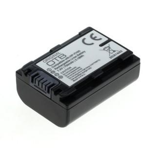 Batteria NP-FH50 / NP-FP50 per Sony DSC-HX1 / DSLR-A230 / DCR-HC20, 700 mAh