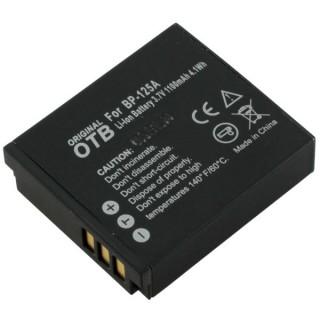 Batteria BP125A per Samsung HMX-M20 / HMX-Q10 / HMX-T10, 1100 mAh
