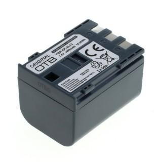 Batteria BP-2L12 per Canon MV3 / MV900 / HV20, 1400 mAh