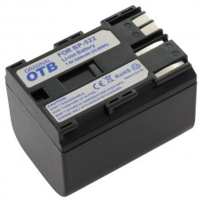 Batteria BP-508 per Canon MV30 / MVX1 / ZR60 / Optura 10, 3200 mAh