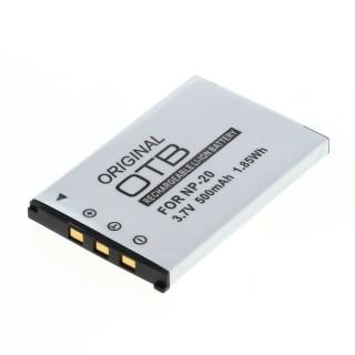Batteria NP-20 per Casio Exilim EX-M1 / EX-Z3 / EX-S3, 500 mAh