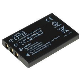 Batteria NP-30 Casio / NP-60 Fuji / KLIC-5000 Kodak, 1000 mAh