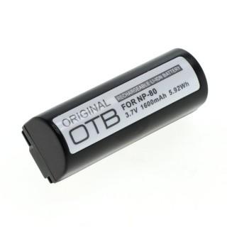 Batteria NP-80 per Fuji Finepix 1300 / 1400 / 4800 / 6800, 1600 mAh