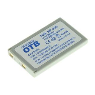 Batteria NP-200 per Minolta Dimage X / Xg / Xi / Xt / Z, 650 mAh
