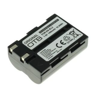 Batteria EN-EL3 per Nikon D50 / D70 / D100, 1400 mAh