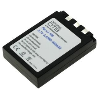 Batteria LI-10B / LI-12B per Olympus Camedia C-50 / mju 300 / mju 1000, 950 mAh