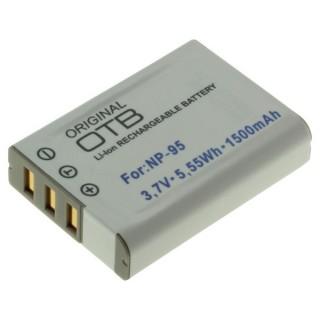 Batteria NP-95 per Fuji Finepix F30 / X30 / X100, 1500 mAh