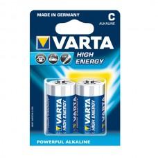 Varta High Energy batteria Baby / C, 2 pezzi