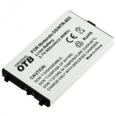 Batteria per Nintendo DS, 800 mAh