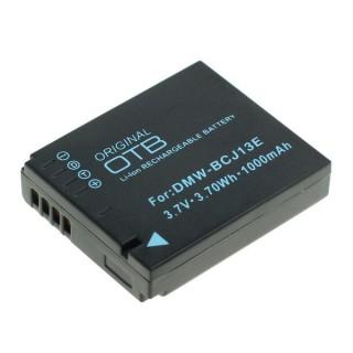 Batteria DMW-BCJ13E per Panasonic Lumix DMC-LX5 / DMC-LX7, 1000 mAh
