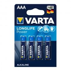 Varta LongLife batteria AAA, 4 pezzi