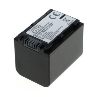 Batteria NP-FV70 per Sony DCR-DVD103 / DCR-DVD105 / DCR-DVD106, 1500 mAh