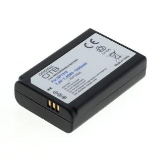 Batteria BP1310 per Samsung NX5 / NX10 / NX20 / NX100, 1000 mAh