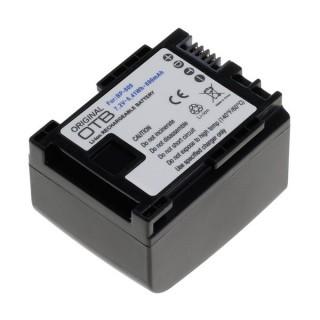 Batteria BP-809 per Canon FS10 / HF10 / HF100 / Legria HF-G10 / HF-S100, 890 mAh