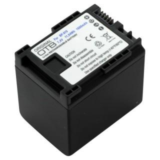 Batteria BP-819 / BP-827 za Canon Legria HF-10 / HF-G10 / HF-S10, 1600 mAh