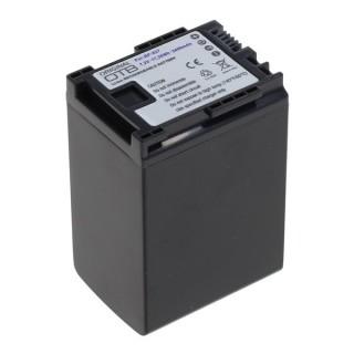 Batteria BP-827 per Canon Legria HF-10 / HF-G10 / HF-S10, 2400 mAh