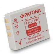 Batteria LI-30B per Olympus mju Mini Digital / Digital S / Stylus Verve Digital, 645 mAh